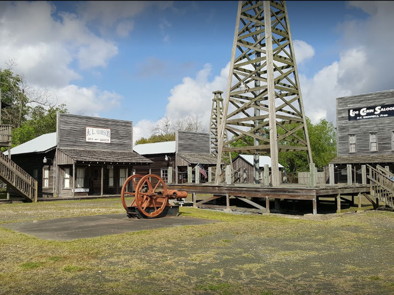 Spindletop Museum Gladys City Boomtown