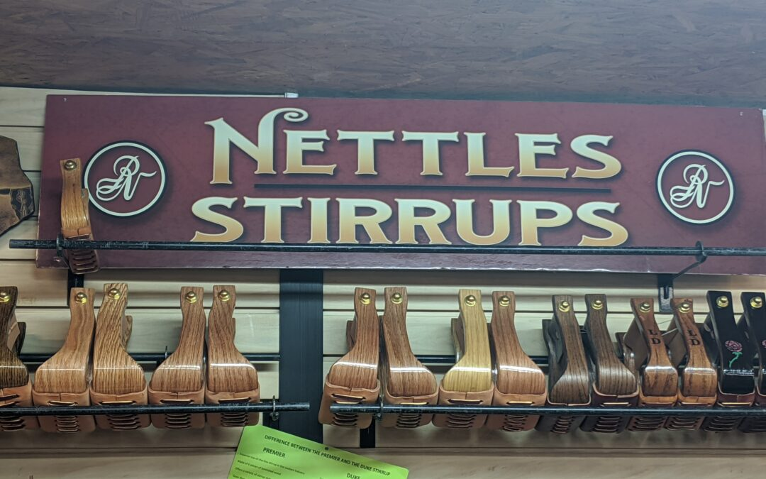 Cowboy Up! Nettles Country Offers Top of the Line Stirrups